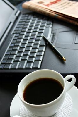 Travail de modélisation avec café